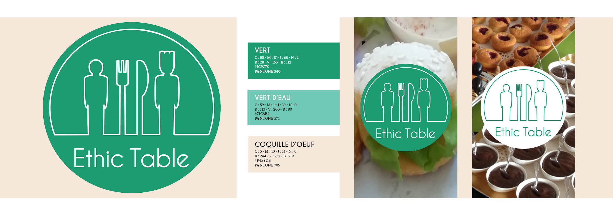 Ethic Table - identité visuelle