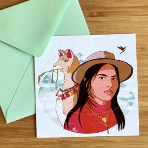 Carte postale - Queen
